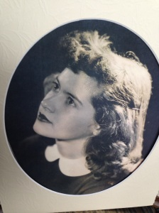 Close up of mother Hazel at 16.