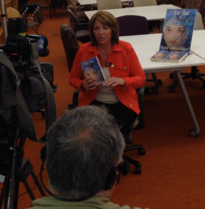 KGW closer interviewing Marcia Coffey Turnquist