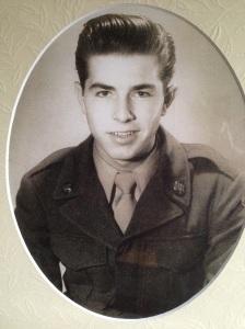 Clayton Coffey in uniform.