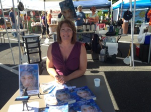 Marcia at the Cedar Mill Farmers' Market.