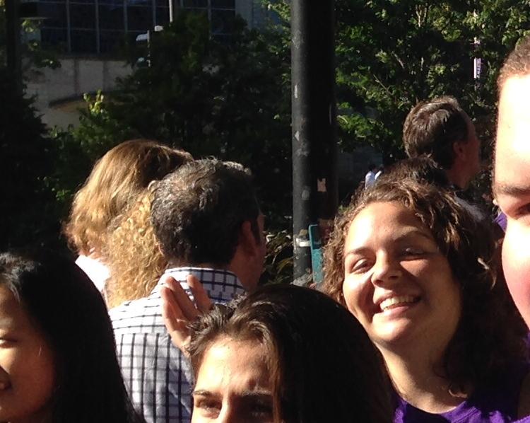 Turnquist daughter smiling