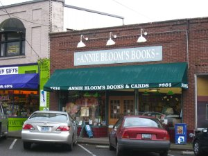 Annie Bloom's bookstore.