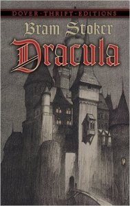 Dracula book cover.